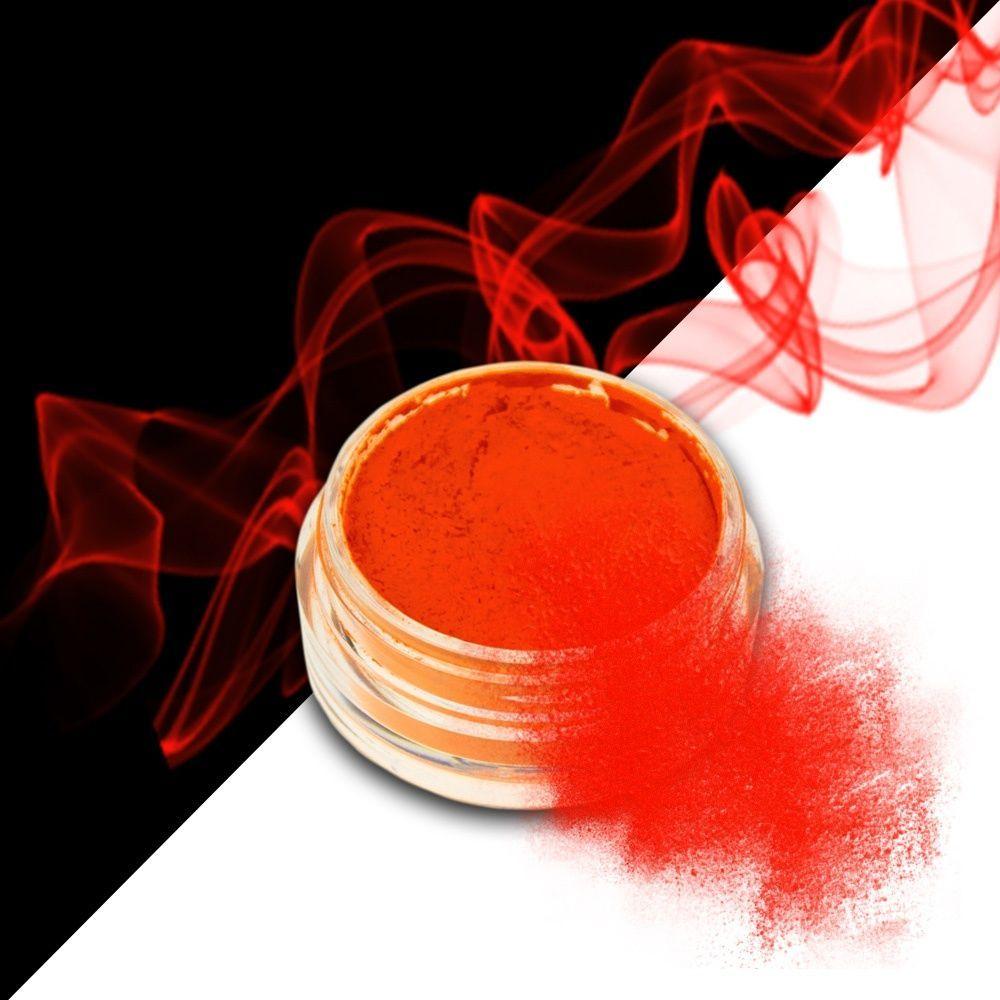 Nehtový pyl SMOKE NAILS - kouřový efekt 06 NEON DARK ORANGE