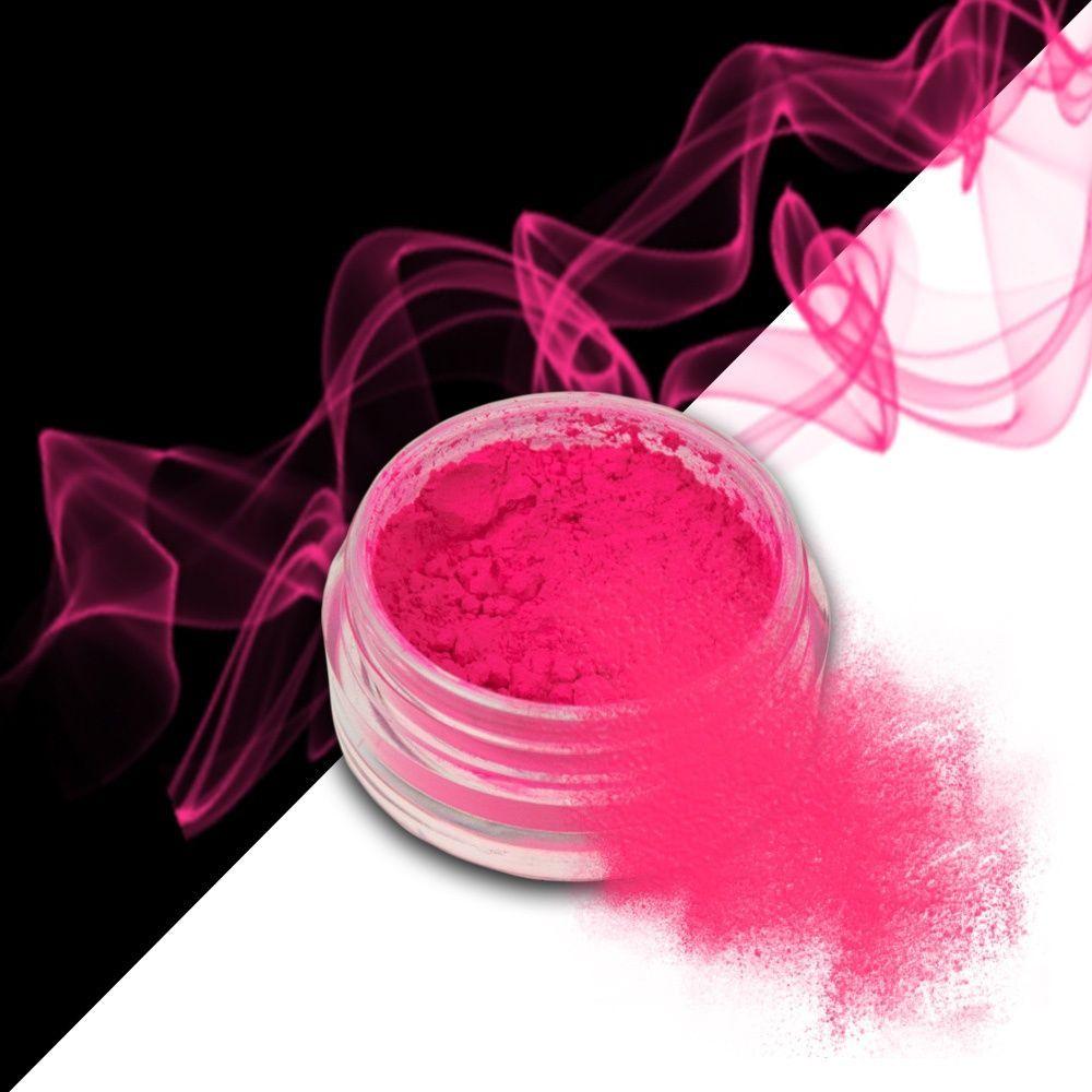 Nehtový pyl SMOKE NAILS - kouřový efekt 09 NEON PINK