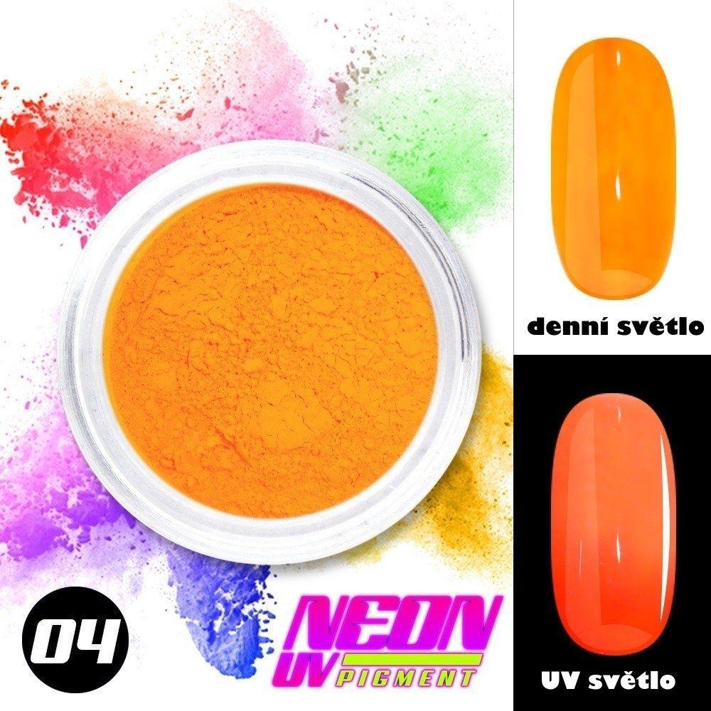 NEON UV pigment - neonový pigment v prášku 04
