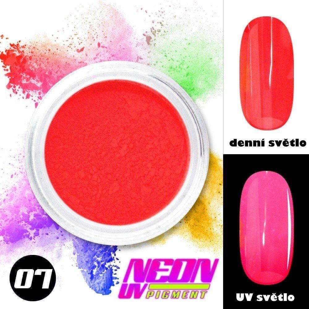 NEON UV pigment - neonový pigment v prášku 07