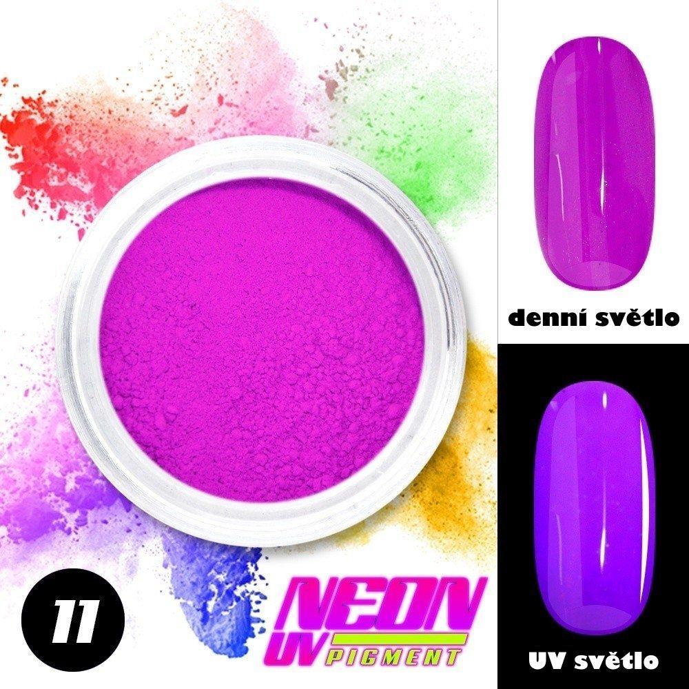 NEON UV pigment - neonový pigment v prášku 11