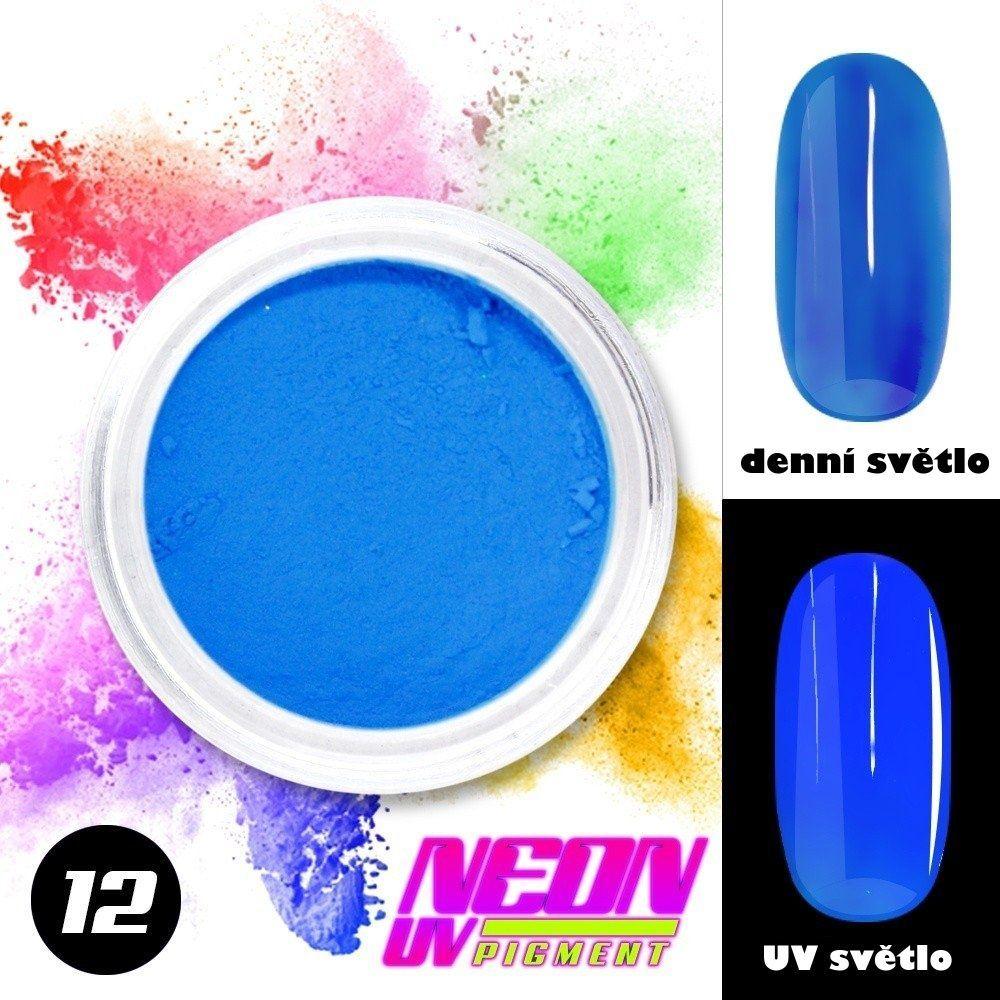 NEON UV pigment - neonový pigment v prášku 12
