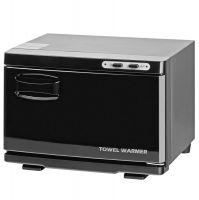 Ohřívač ručníků s UV-C sterilizátorem černý - malý (AS)