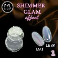 Pyl na zdobení nehtů - Efekt Shimmer Glam 01 (A)