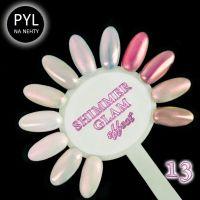 Pyl na zdobení nehtů - Efekt Shimmer Glam 13