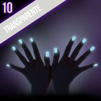 Ozdobný prach Glow - 10. Transparente