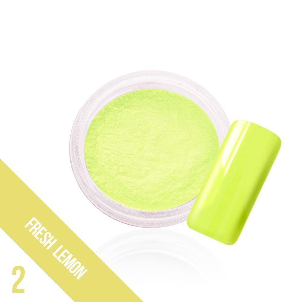 Ozdobný prach Glow - 2. Fresh Lemon