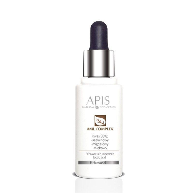 APIS kyselina amlcomplex 30ml 30% (kyselina azelaová, mandlová, mléčná)