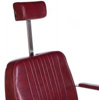 Barbers - holičské křeslo HOMER BH-31237 červené LUX