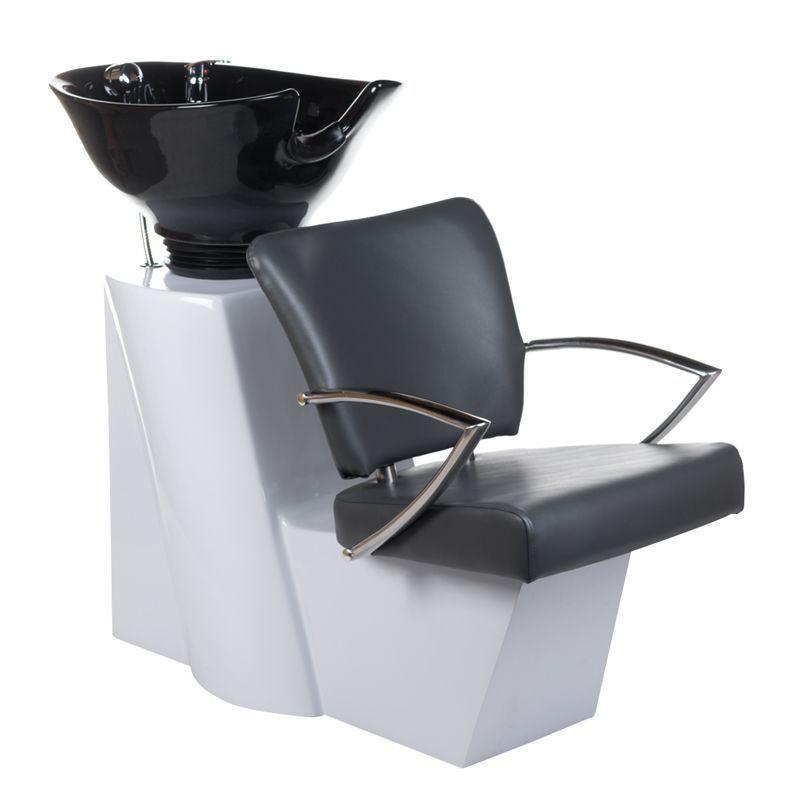 Kadeřnický mycí box LIVIO BH-8012 šedý