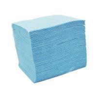 Skládané lékařské ubrousky s fólií 33x48 - 50ks modré (EU)