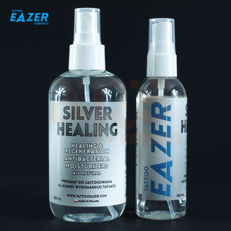TATTOO EAZER FINISH - SILVER HEALING 250ml