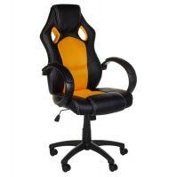 Hráčské / kancelářské křeslo Racer CorpoComfort BX-2052 oranžové
