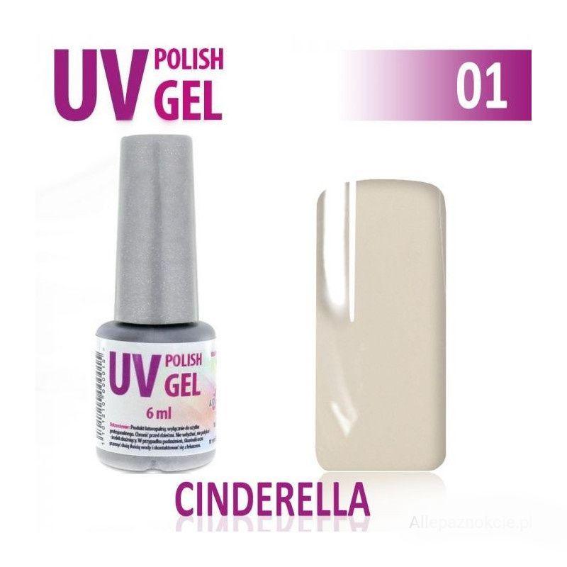 UV gel na nehty hybridní CINDERELLA