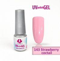 143.UV gel lak Strawberry coctail 6 ml (A)