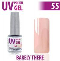 55.UV gel lak na nehty hybridní BARELY THERE 6 ml (A)