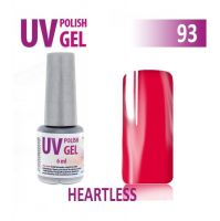 93.UV gel lak na nehty hybridní HEARTLESS 6 ml (A)