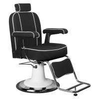 Barbers křeslo AMADEO černé (AS)