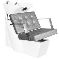Kadeřnický mycí box GABBIANO MARBELLA šedý (AS)